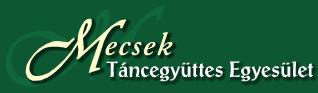 Mecsek Táncegyüttes Egyesület Logo